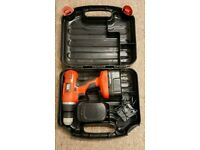 Black and decker battery drill Cordless with 2xbatteries
