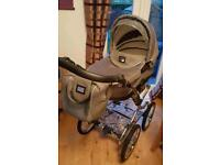 VIB Serenity Classic Chassis 3 in 1 Travel System