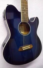 Preowned Ibanez Talman TCY10E-TBS Electro-Acoustic Guitar