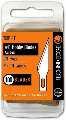 Hobby Blade - Techni Edge TE01-111 #11 100 Pc Lames Hobby Blade