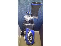 Confidence Power II Hybrid Golf Clubs Set + Bag