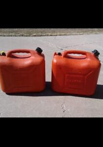 Gasoline Containers/ Jerry Cans