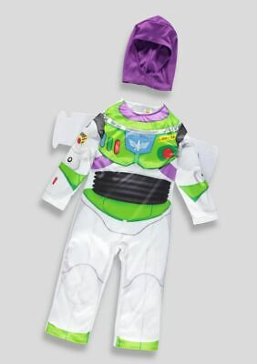 NEW Boys Girls Disney Toy Story Buzz Lightyear Fancy Dress Up Costume ()