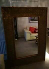 Large Feature Mirror. 79 inches x 49 inches.