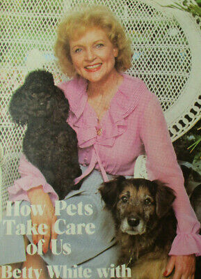 Betty White's Pet Love Book, How Pets Take Care of Us, 1983 Collectible