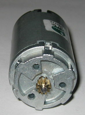 Buehler 12v - 2000 Rpm Dual Shaft Dc Motor With Gear - Low Current Low Noise