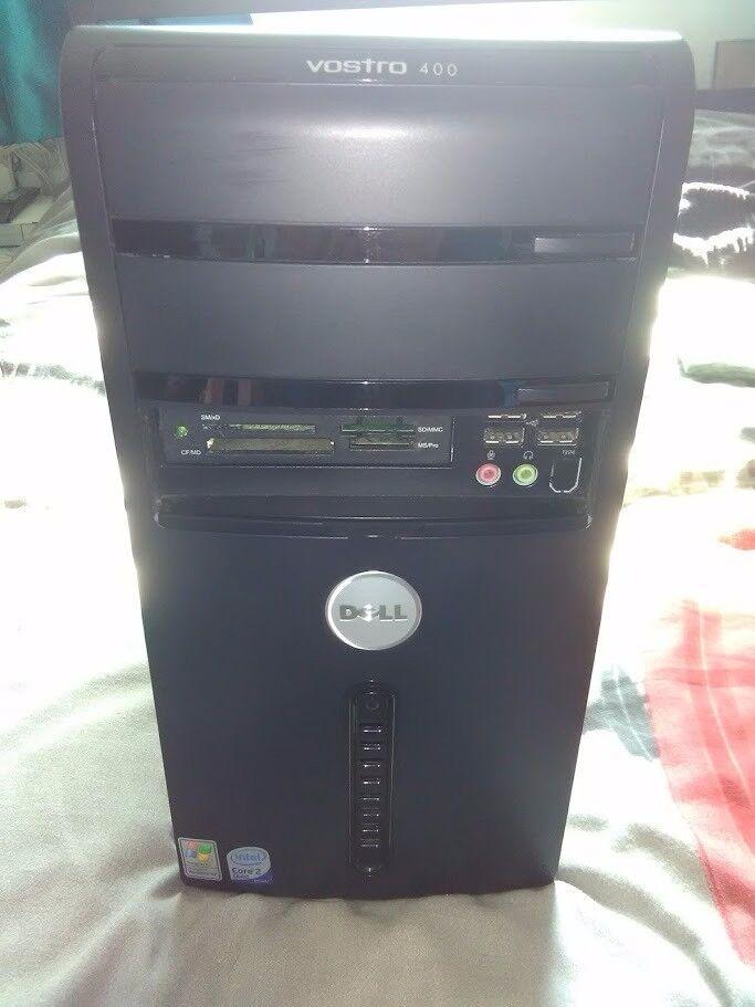 DELL DESKTOP PC COMPUTER, WINDOWS 10 HOME, INTEL CORE 2 QUAD CORE CPU, 2GB RAM, 160GB HDD