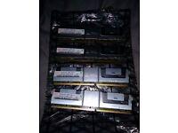 HYNIX HYMP151F72CP4N3-Y5 4GB ( 1 X 4GB ) PC2-5300 DDR2-667MHZ SDRAM, ( SERVER RAM )