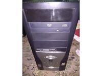 PC COMPUTER WINDOWS 7, 1.5GB RAM, 160GB HDD, INTEL 2.66GHZ CPU, DVD WRITER