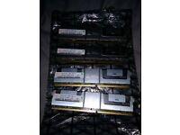 HYNIX HYMP151F72CP4N3-Y5 4GB ( 1 X 4GB ) PC2-5300 DDR2-667MHZ SDRAM, ( SERVER RAM ) memory ram
