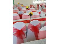 100 CHAIR COVERS FOR HIRE