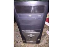 PC COMPUTER WINDOWS 7, 1.5GB RAM, 160GB HDD, INTEL 2.66GHZ CPU, DVD WRITER