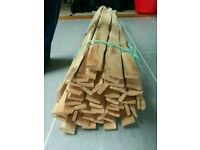 Chestnut riven laths complete bundle 4ft