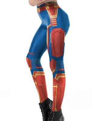 in Marvel printed COSPLAY Slim elastic legging S-XL (Marvel Leggings)