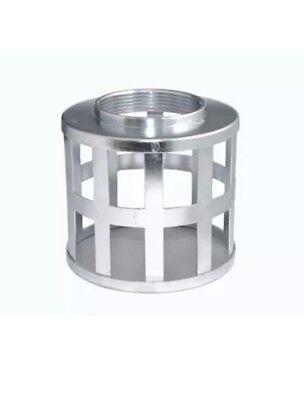 3 Steel Square Hole Strainer Basket Trash Pump Suction Hose Cc5