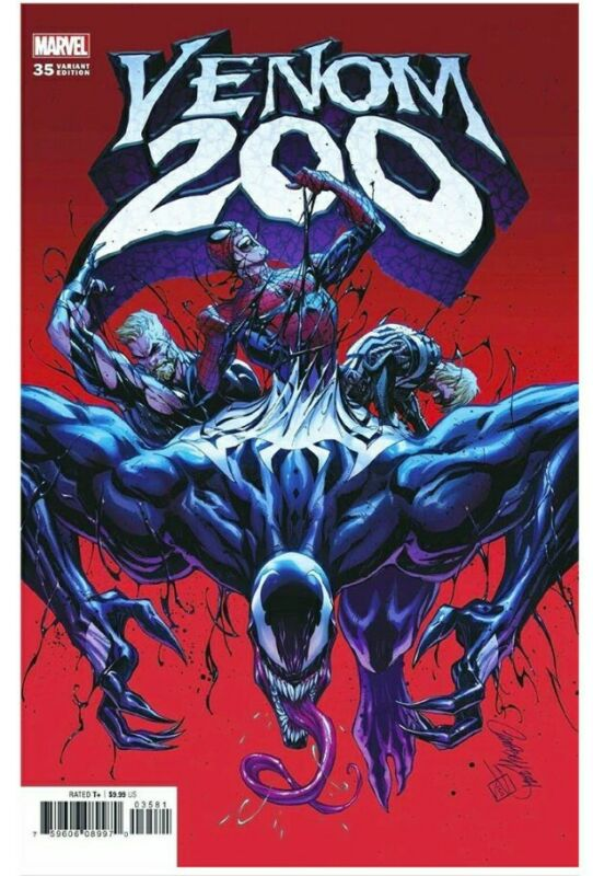 Venom #35 (#200) J SCOTT CAMPBELL 1:50 CARNAGE KNULL SPIDERMAN (DETAILS) JUN NM