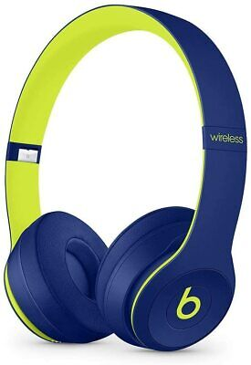 Beats by Dr. Dre Solo3 Wireless Over the Ear Headphones - Pop Indigo