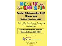 Baby & Toddler Nearly New Sale 6th November 2016