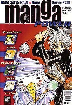 Manga Power Nr. 16 u.a Peach Girl, Chobits, Turn A Gundam, Psychic Academy, RAVE