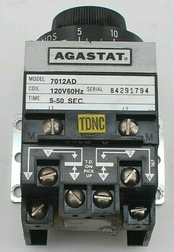 AGASTAT 7012AD Time Delay Relay