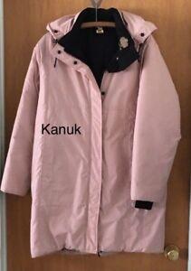 Manteau hiver femmes comme neuf rose pâle gr 2 small 900$
