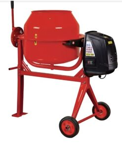 Brand new electric cement mixer