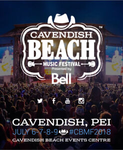 LOOKING FOR A CAMP SITE FOR Cavendish Beach music festival!