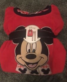 Mickey Mouse fleece pjs