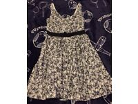 Stunning summer dress Vintage style size 10