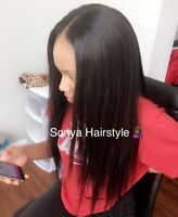Coiffeuse Africaine/ African hairdresser