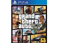 GTA 5 PS4 WANTED