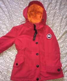 Red Canada goose coat