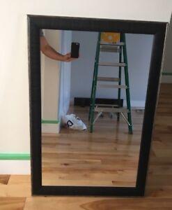 Large wall/bathroom mirror - $25