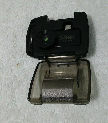 Seek Compact Thermal Imaging Camera For Android Smartphone Black
