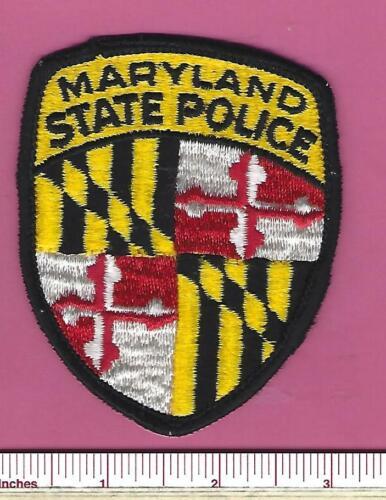 Maryland MD State Police Law Enforcement Highway Patrol Trooper Shoulder Patch