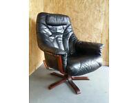 Mid century recliner chair