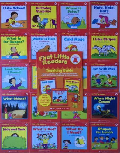 20 Easy Phonics Reading Books PreK Kindergarten Guided Level A Homeschool Guide