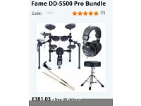 Electric Drum Kit - brand new and not unboxed