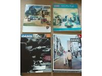 4 x Oasis Guitar Tab Books