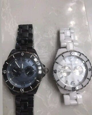 Invicta 0317-0318 Ceramic Porcelain MOP Dial/44MM:Choose1( only 1  All Google