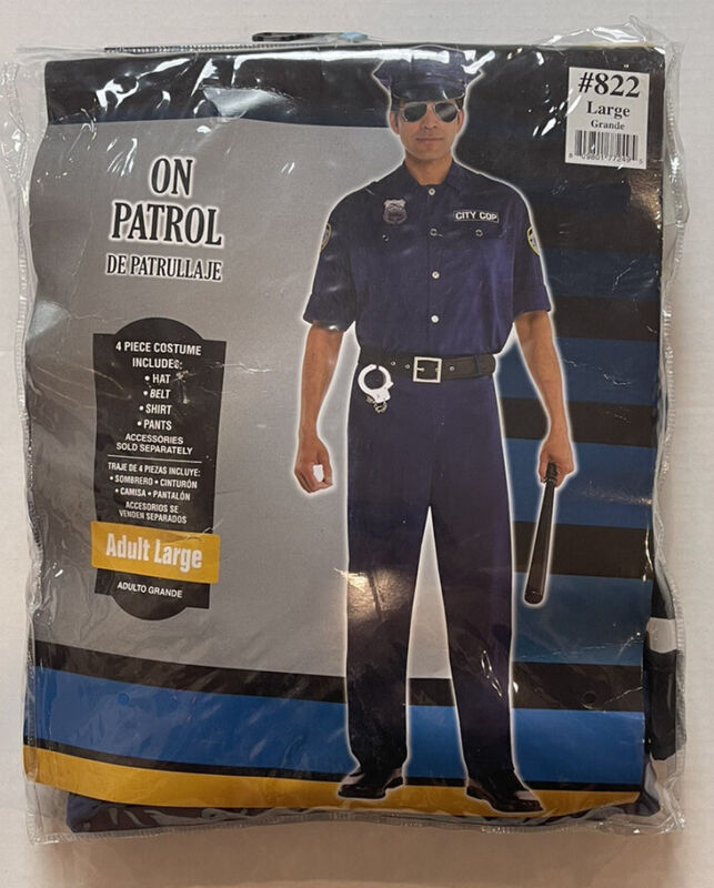 on patrol costume size large