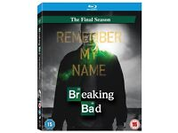 Breaking Bad The Final Season Remember My Name (2 Disk Set) Blue Ray Brand New