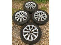 Honda Civic Alloy Wheels EP3 Type S, S Sport 5x114.3 Good Tyres 205/55/16 Type R