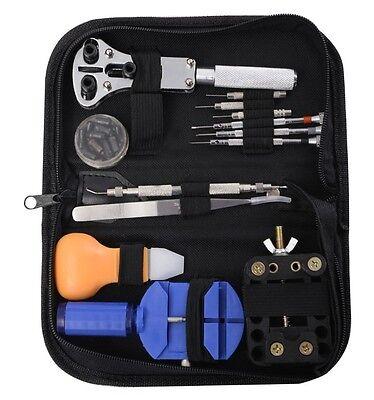 13pcs Watch Repair Tool Kit Case Opener Link Spring Bar Tool Hand Remover New US