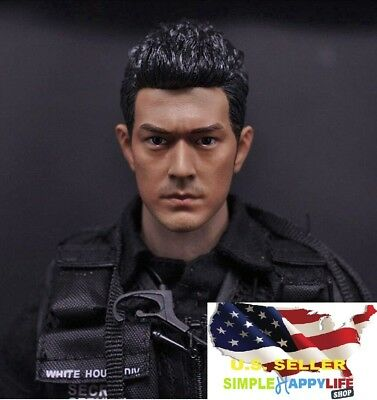 1/6 Takeshi Kaneshiro Asian Male Head sculpt For Phicen 12