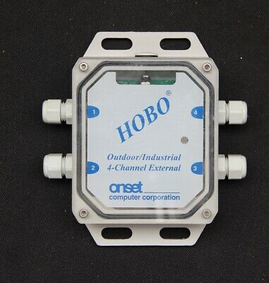 U12-008 Hobo U12 4 Channel Outdoor External Data Logger Free Shipping