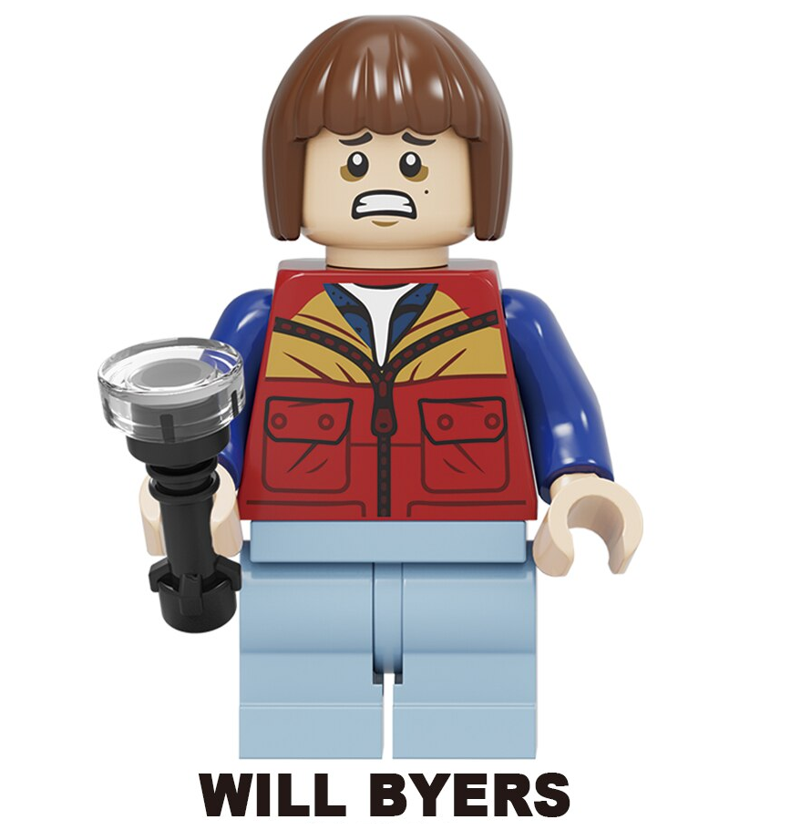 New Minifigure Rare Custom Lego Will Byers Character Stranger Things Movie