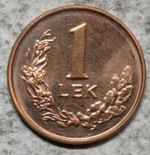 Albania 1996 1 Lek Coin - Uncirculated