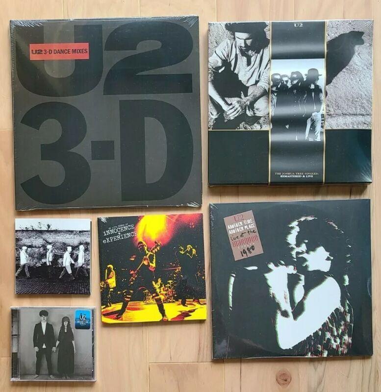 U2 Fan Club Tour Joshua Tree 3D iNNOCENCE + eXPERIENCE Bundle