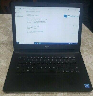 Dell Latitude 3460 Laptop 3215U 1.70 Ghz / 8 GB RAM / 500 GB HD / Works Great